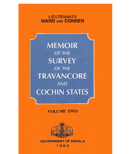 Memoir of the survey of Travancore and Cochin states - Vol 2