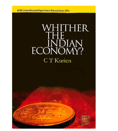 Whither the Indian Economy?
