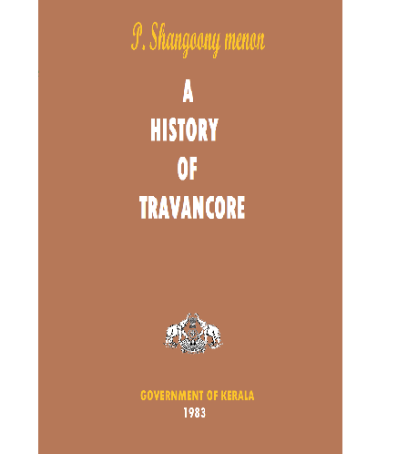 A History of Travancore (Xerox Copy)