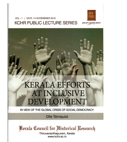 Kerala Efforts at Inclusive Development - in the view of the Global Crisis of Social Democracy